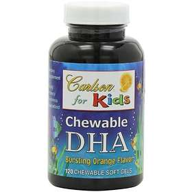 Carlson Labs For Kids Chewable DHA 120 Capsules
