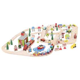 Bigjigs Rail City Road and Railway Set BJT032