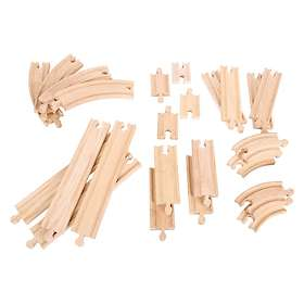 Bigjigs Rail Curves and Straights Expansion Pack BJT057