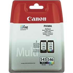 Canon PG-545 (Black) + CL-546 (3-Colour)