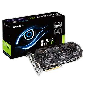 Gigabyte GeForce GTX 970 Windforce 3X OC HDMI 3xDP 2xDVI 4Go