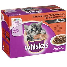 Whiskas Pouches Kitten Jelly 12x0,1kg