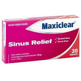 AFT Pharmaceuticals Maxiclear Sinus Relief 30 Tablets