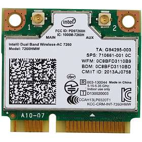 Intel Dual Band Wireless-AC 7260 HMC Rev.2