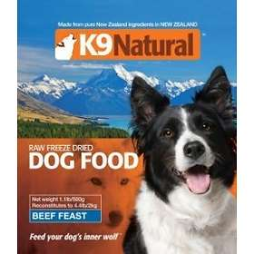 K9 Natural Freeze Dried Beef 1.8kg