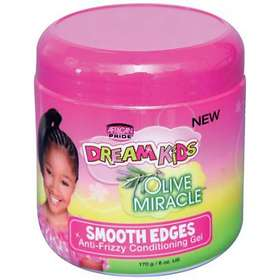 African Pride Dream Kids Smooth Edges Anti Frizzy Conditioning Gel 170g
