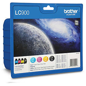 Brother LC900 (Noir/Cyan/Magenta/Jaune)