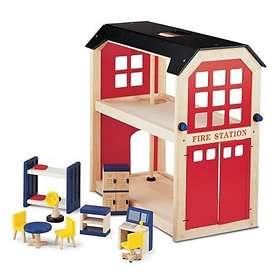 Pintoy Fire Station & Accessories 03525