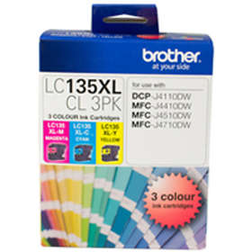 Brother LC135XL (Cyan/Magenta/Yellow)