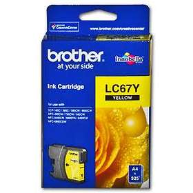 Brother LC67Y (Gul)