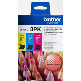 Brother LC73 (Cyan/Magenta/Yellow)