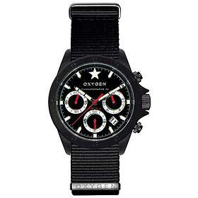 Oxygen Watch Chrono Record 42 Black EX-C-REC-42-NN-BL