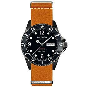 Oxygen Watch Moby Dick Black 40 EX-D-MBB-40-NL-OR