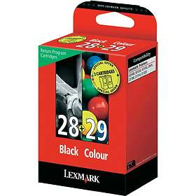 Lexmark 28 (Black) + 29 (3-Colour)