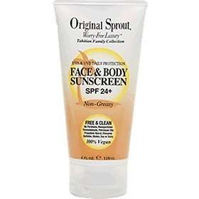 Original Sprout Face & Body Sunscreen SPF27 90ml