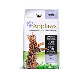 Applaws Cat Dry Adult Chicken & Duck 0,4kg