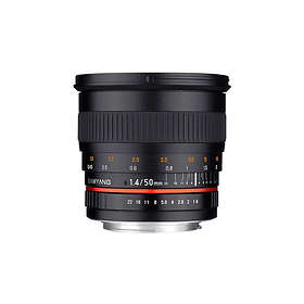 Samyang 50/1.4 AS UMC for Canon EF-M