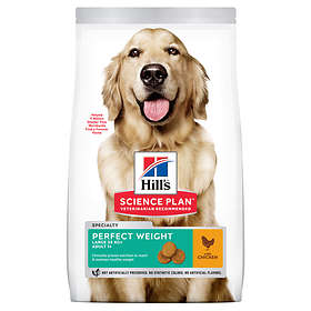 Hills Canine Science Plan Adult Perfect Weight Large 12kg