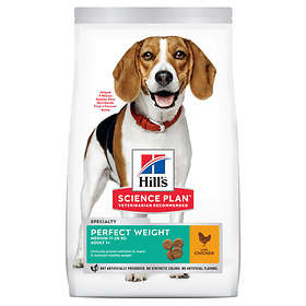 Hills Canine Science Plan Adult Perfect Weight Medium 10kg