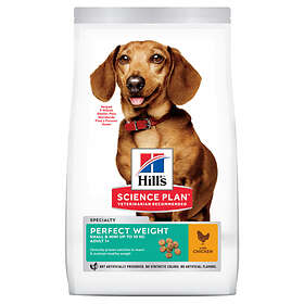 Hills Canine Science Plan Adult Perfect Weight Mini 2kg