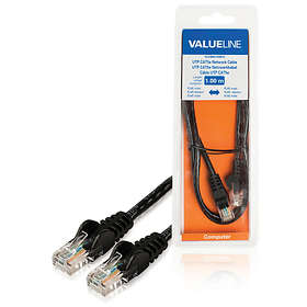 Valueline UTP Cat5e RJ45 - RJ45 Snagless 1m