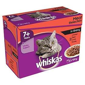 Whiskas Pouches Adult Gravy 12x0.1kg