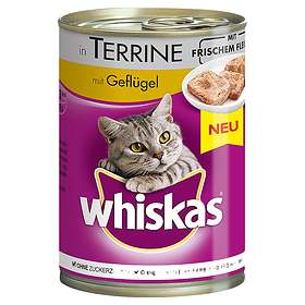 Whiskas Tins Adult 12x0,4kg