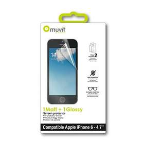 Muvit Screen Protector Matte & Glossy for iPhone 6
