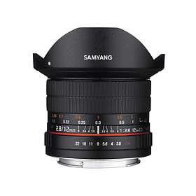Samyang 12/2.8 ED AS NCS Fisheye for Sony E