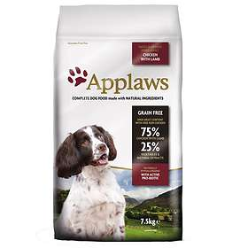 Applaws Dog Adult Small & Medium Chicken & Lamb 7,5kg