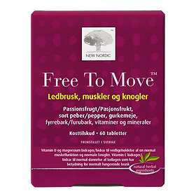 New Nordic Free To Move 60 Tabletter