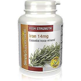 Simply Supplements Iron 14mg 120 Tabletter