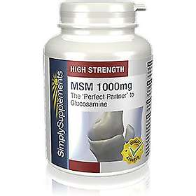 Simply Supplements MSM 1000mg 180 Tabletter