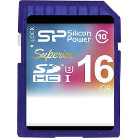 Silicon Power Superior SDHC Class 10 UHS-I U3 16Go