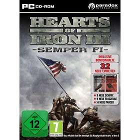 Hearts of Iron III: Semper Fi (Expansion) (PC)