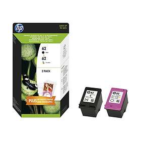 HP 62 (Black/3-Colour)