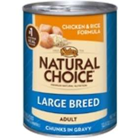 Nutro Dog Can Natural Choice Adult Large Chicken & Rice 0.335kg