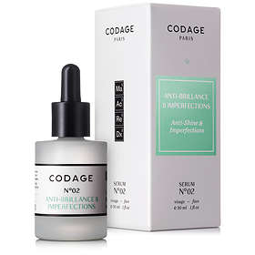 Codage Serum N°2 Anti-Shine & Imperfections 30ml