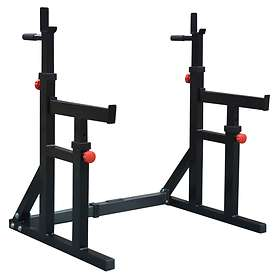 DKN Technology Squat and Dip Rack with Spotter Catchers