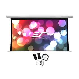 "Elite Screens Saker Tab Tension Black Top-12 MaxWhite FG 16:9 84"" (186x105)"