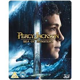 Percy Jackson: Sea of Monsters - SteelBook (3D) (UK)