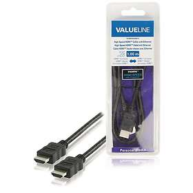Valueline VLM HDMI - HDMI High Speed with Ethernet 1m