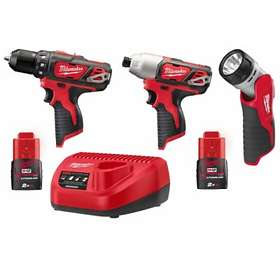 Milwaukee M12 BPP3A-202B (2x2,0Ah)