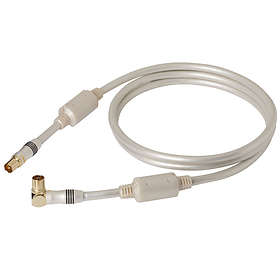 Real Cable TV-90MF Antenna 9.5mm - 9.5mm (angled) M-F 1,5m