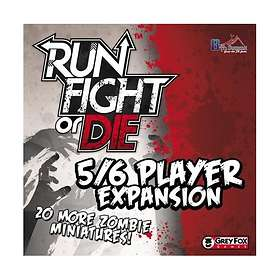 Run, Fight, or Die! 5/6 Players (exp.)