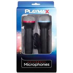 Playmax Wired Universal Microphones