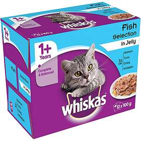 Whiskas Pouches Adult Jelly 48x0.1kg