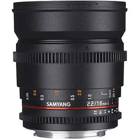 Samyang 16/2.2 ED AS UMC CS II VDSLR for Sony E