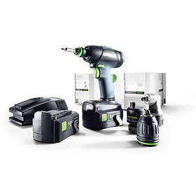 Festool T 18+3 Li 5,2-Set (2x5,2Ah)