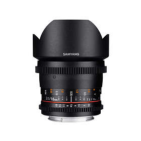 Samyang 10/3.1 ED AS NCS CS II VDSLR for Fujifilm X